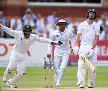 इंग्ल्याण्डविरुद्धको पहिलो टेस्ट क्रिकेटमा पाकिस्तान विजयी