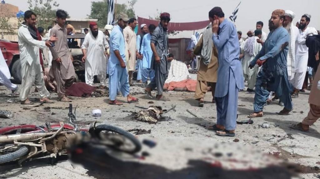 पाकिस्तानः मतदान केन्द्रमा विस्फोट, २८ को मृत्यु