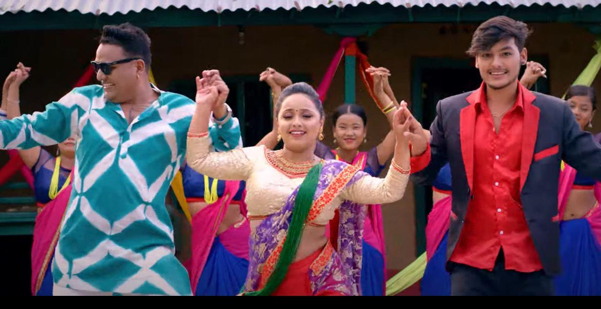 """बद्री पंगेनी र पुजा क्षेत्रीको तिज गीत """"मेरो मायालुु"""" (भिडियो सहित)"""